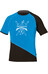 Directalpine Flash BCS 1.0 t-shirt Heren blauw/zwart